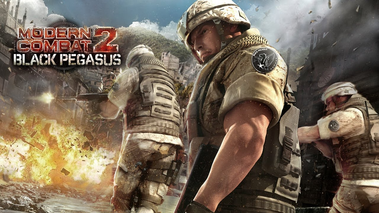 Modern Combat 2: Black Pegasus Android Gameplay by ... -