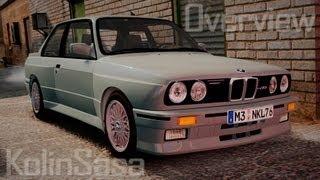 GTA 4/EFLC BMW M3 E30 v2.0