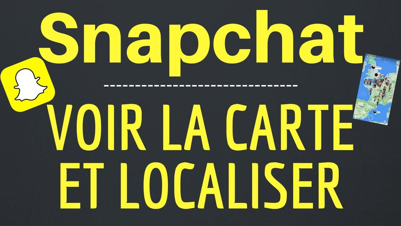 comment voir la carte sur snap Snap Map : Comment VOIR la CARTE et LOCALISER sur Snapchat