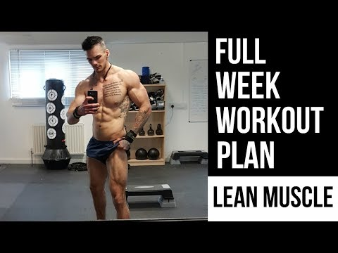 lose-fat-gain-muscle-|-lean-muscle-workout-plan-:-full-week-explained