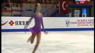 Repeat youtube video Julia Lipnitskaya - 2013 World Junior Championships - LP