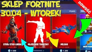 FORTNITE 30.04 STORE-NEW SKIN AVENGERS-Star Lord's outfit, dance duel Emotic, Milano