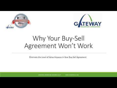 Why Your Buy-Sell Agreement Won't Work