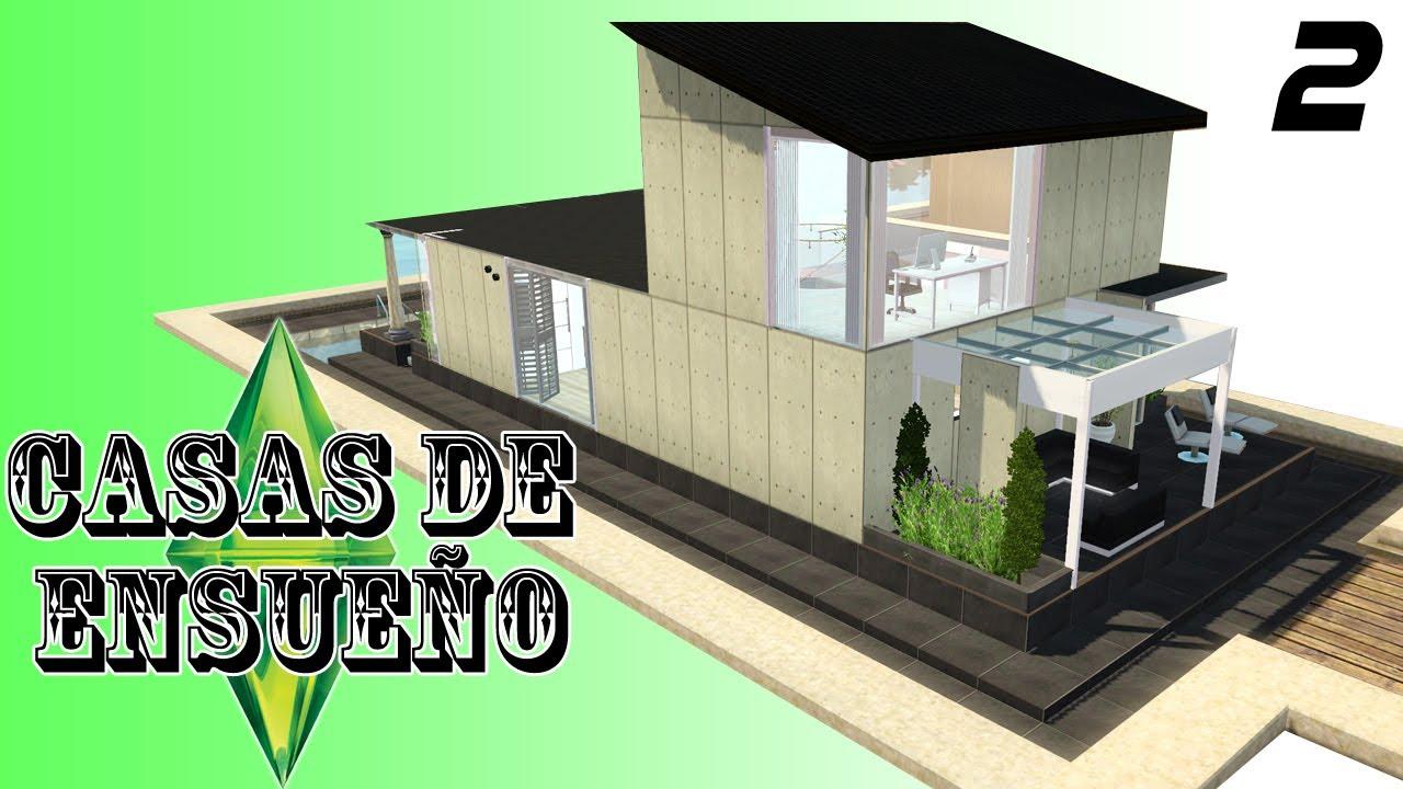 Casas de ensue o casa 2 serie sims 3 descarga youtube for Planos de casas sims