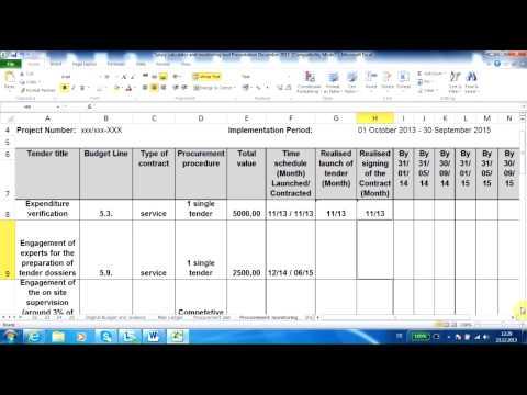 10 04 Procurement monitoring tool