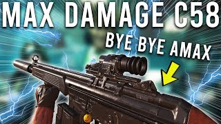 Call of Duty Warzone Max Damage C58 build is Insane...