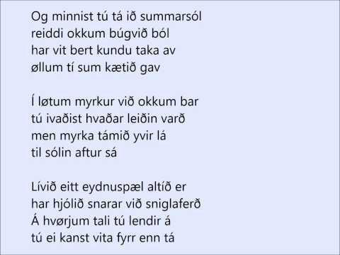 Flemming og vinmenn - Eydnuhjólið