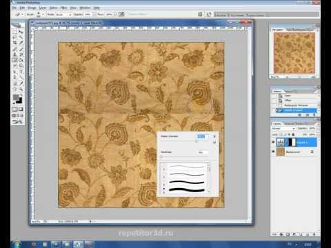 Как создать бесшовную текстуру для 3ds max в Photoshop