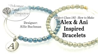 How to Make Alex & Ani Inspired Bracelets