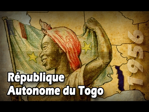 French Source - #3 Drapeau de la République Autonome du Togo - 1956