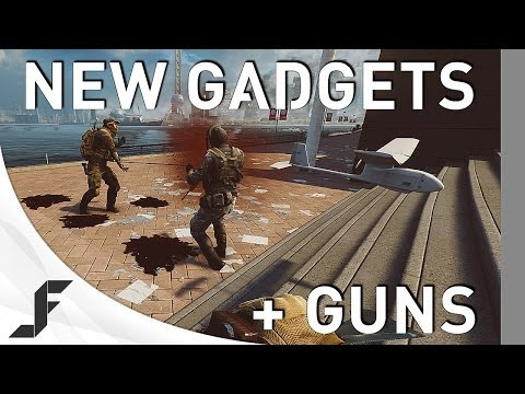 NEW Weapons and Gadgets  Battlefield 4 China Rising