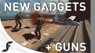 NEW Weapons and Gadgets - Battlefield 4 China Rising