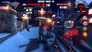 Dead Trigger 1 Bloody Xmas Wave 29 All Shotguns Nvidia Shield Tablet