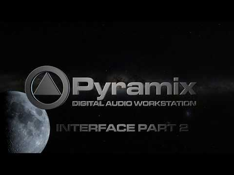Pyramix: projects, monitoring section, mixer structure