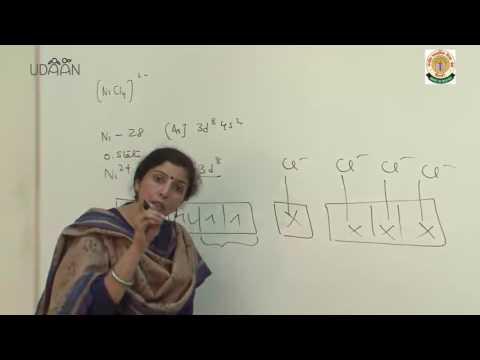 Lecture: Coordination Compounds - 1