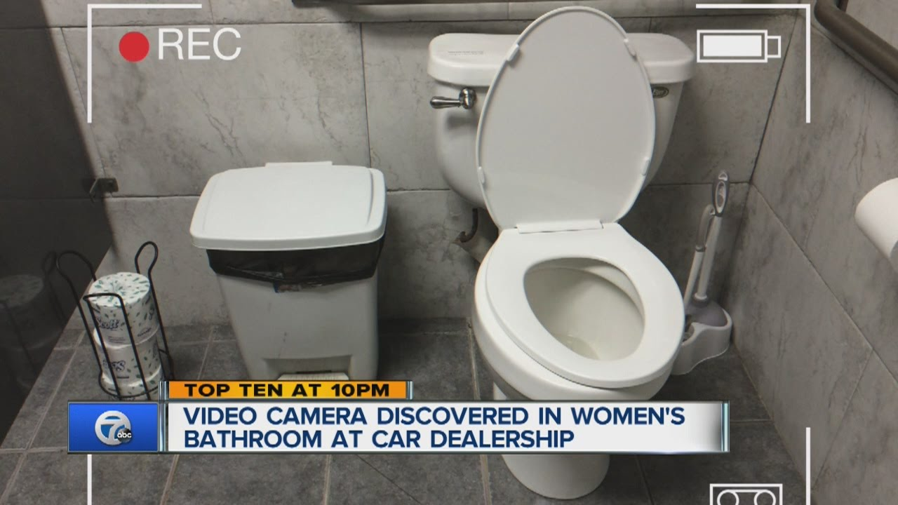 spy cam toilet