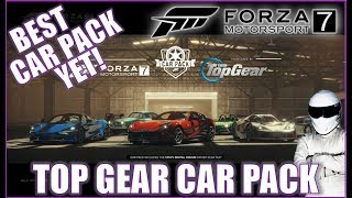 Forza Motorsport 7 July Top Gear Car Pack! BEST CAR PACK YET!!!