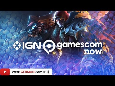 Gamescom 2019: Darksiders Genesis, Grid & More! - IGN Live (GERMAN)