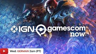 Gamescom 2019: Darksiders Genesis, Grid & More! - IGN Live (GERMAN)