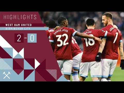 FA CUP HIGHLIGHTS | WEST HAM UNITED 2-0 BIRMINGHAM CITY
