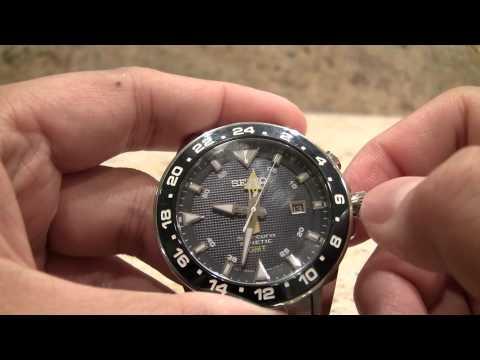 Seiko Sportura Kinetic GMT SUN017P1 Review