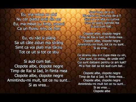 Paula Seling-Clopote albe Clopote negre-karaoke