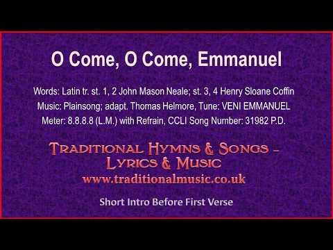 O Come, O Come, Emmanuel(BH076~MP493) - Christmas Carol, Lyrics & Music
