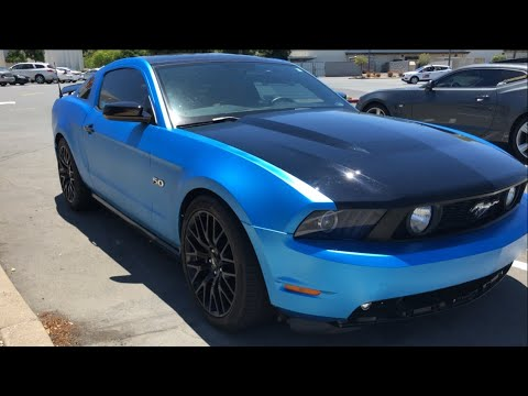 how fast does a 2011 mustang 5 0 coyote go youtube. Black Bedroom Furniture Sets. Home Design Ideas