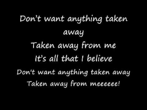 Take Back The Fear w/ Lyrics