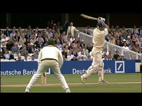 Kevin Pietersen 57 vs Australia 1st test 2005 (debut test)