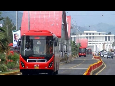 Islamabad view on metro bus 2017 ||  by Exagent