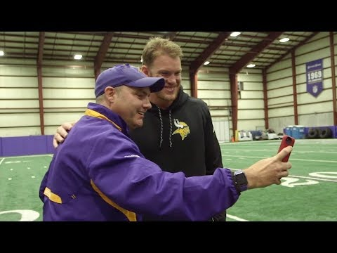Vikings Welcome Cancer Survivor To Winter Park