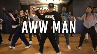 Aww Man- Lil Bibby ft. Future | Chapkis Dance | Melvin Timtim Choreography