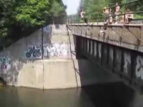 Red Rock, PA Cliff/Bridge Jumping