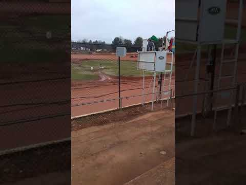 Dirt late model hot laps at 411 motor speedway