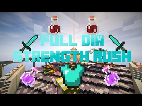 Minecraft Annihilation #8 - FULL DIA STRENGTH RUSH [ByCraft / olik400 / CZ]
