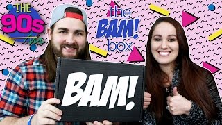 Bam Box February 2017 - 90s