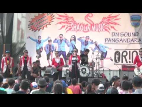 ORIND POP SKA live pangandaran with SHAOLIN MUSIC