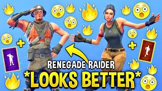 These Fortnite Dances Look Better With These Skins..! (China Default)