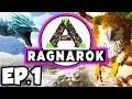 ARK: Ragnarok Ep.1 - APEX RAPTOR DINOSAURS NEXT TO SPAWN!!! (Modded Dinosaurs Gameplay) mp3