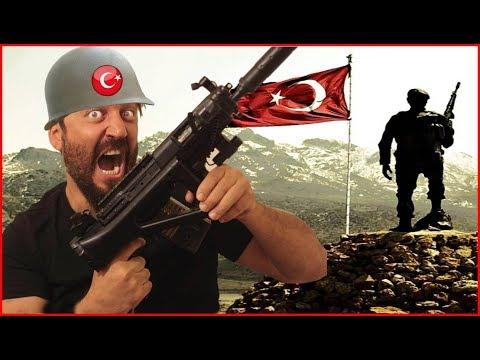TÜRK ASKERİ SAVAŞ OYUNU !