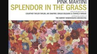 Pink Martini  And then you