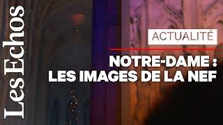Les premières images de l'intérieur de Notre-Dame après l'incendie