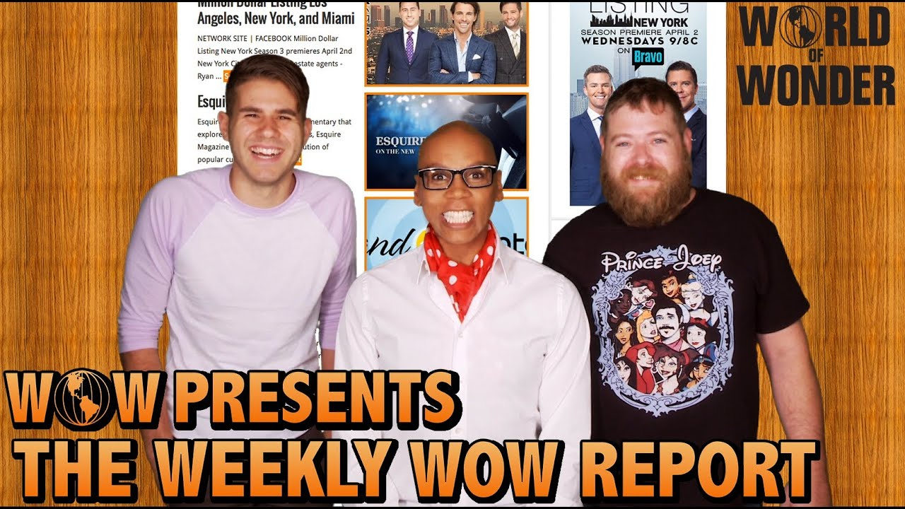 Download WOWPresents the Weekly WOW Report Featuring RuPaul!