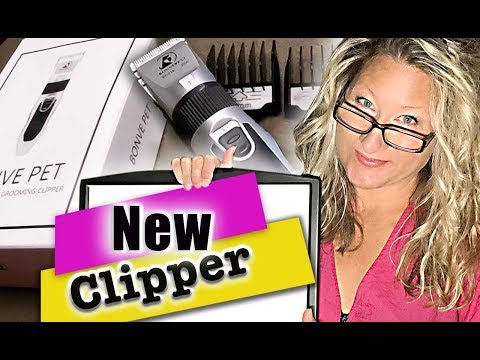 Would I use this Dog Grooming Clipper? (Bonve Pet Trimmer) Find the best dog clipper to purchase