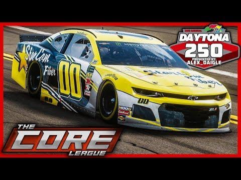 2nd Annual Daytona 250 | The CORE League | Race 1 Of 18 | NASCAR Heat 4