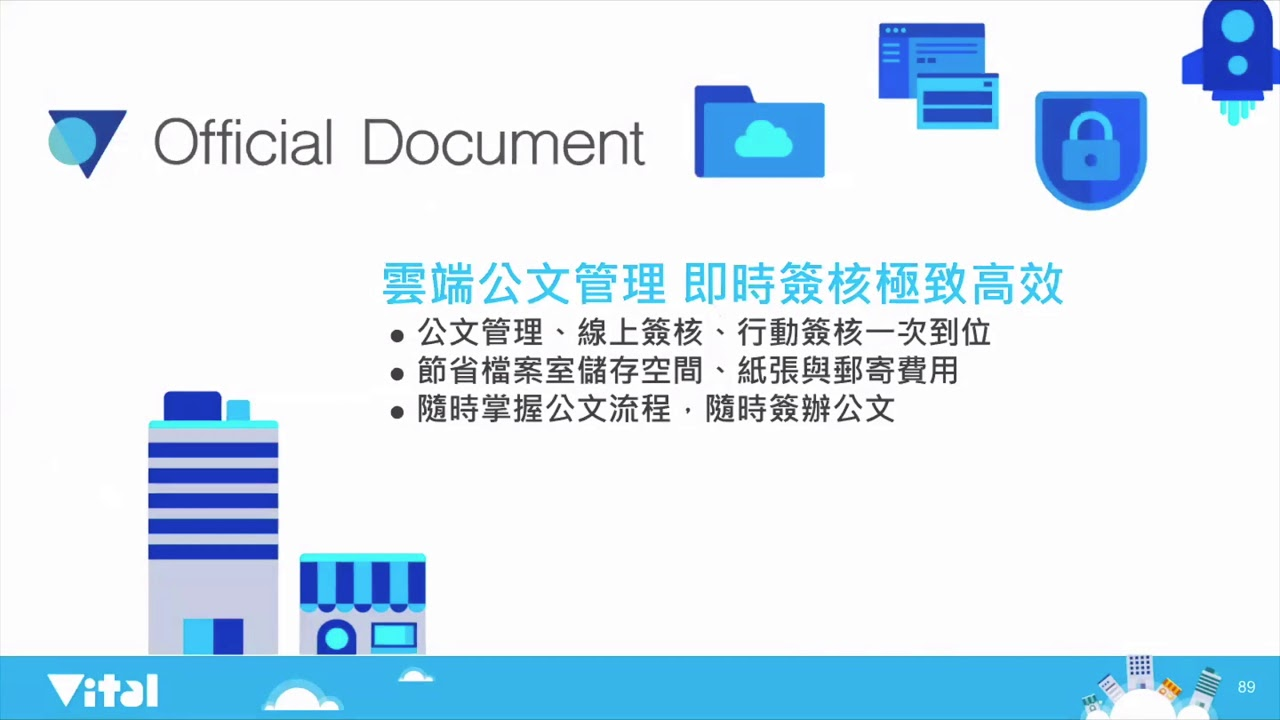 Vital Official Document 雲端公文管理系統 - 產品介紹
