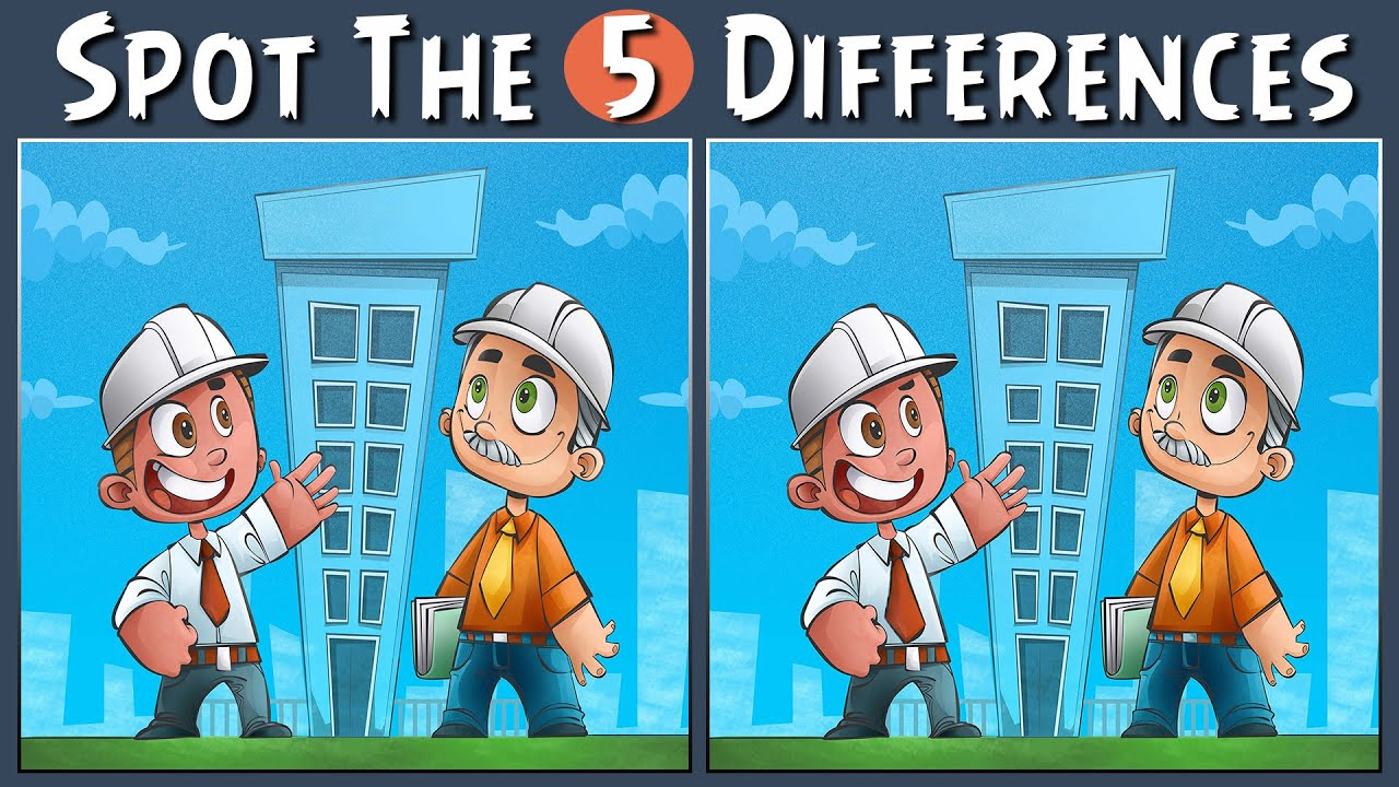 Spot The Difference | Spot The 5 Differences