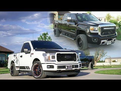 AWD Supercharged F150 & 900 HP Duramax Denali cruise their home in West Texas!
