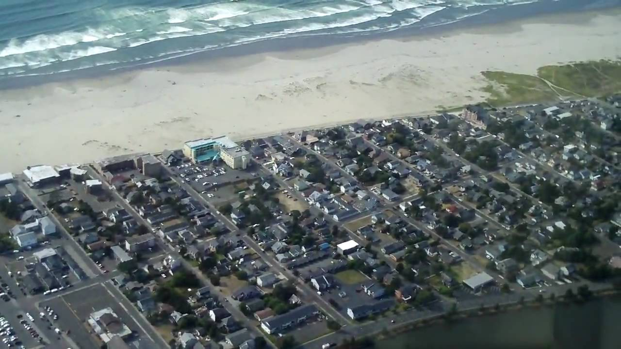Helicopter Tour Of Seaside Oregon  YouTube